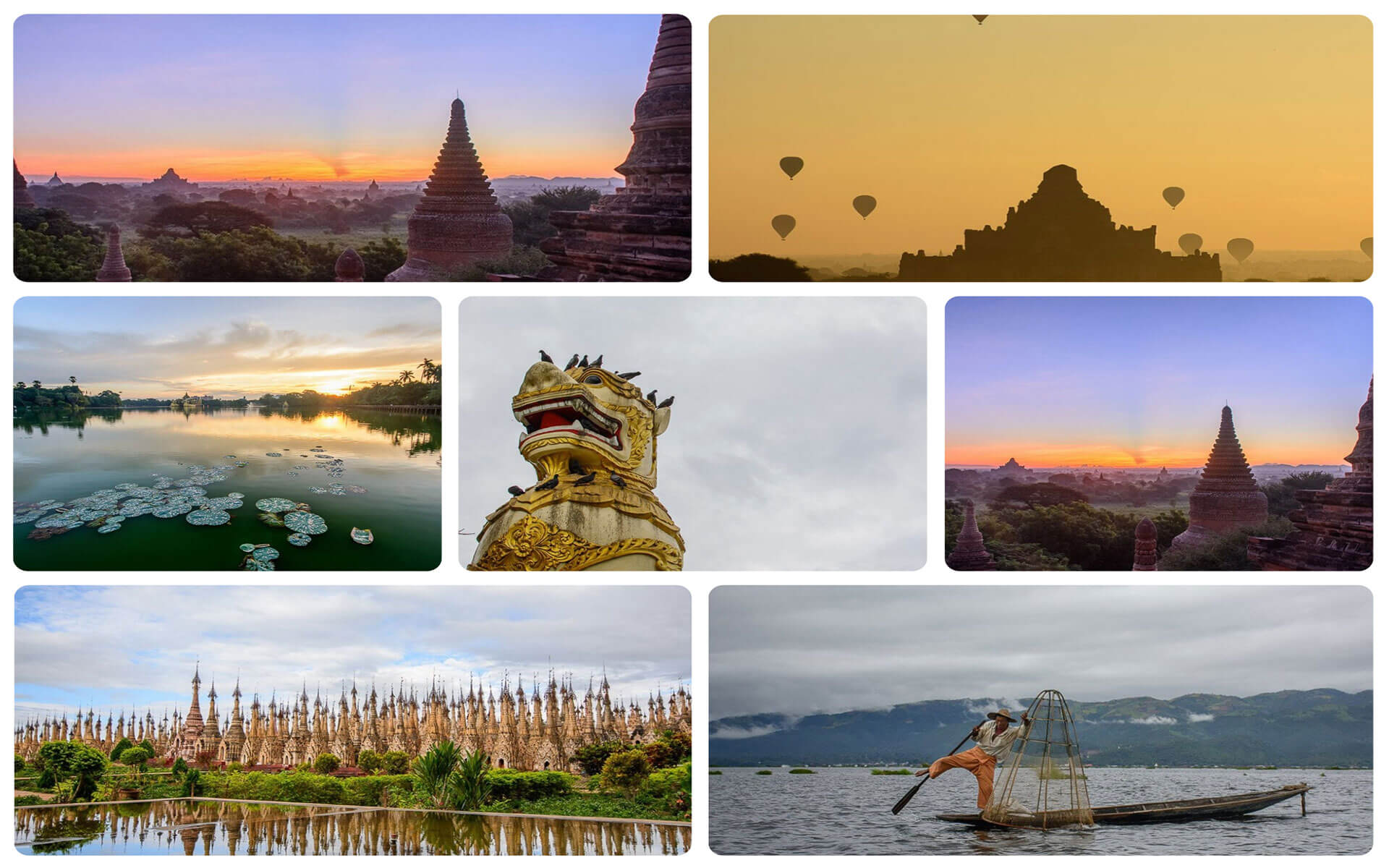 Myanmar tour package from india