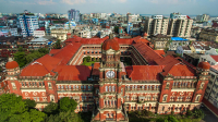 Best Photos of High Court Building in Myanmar/Rangoon